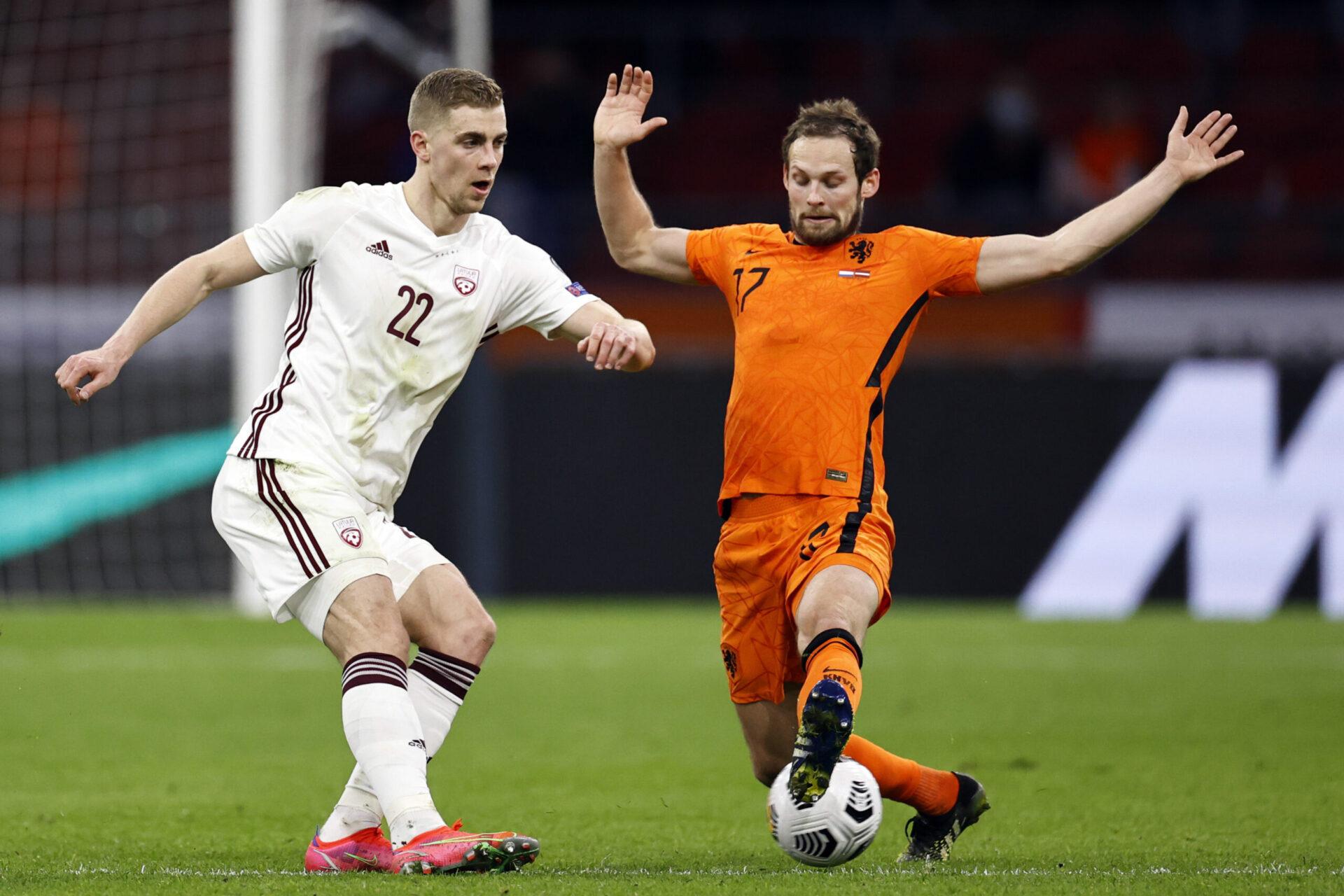 Daley Blind pourrait remplacer Matthijs De Ligt en cas de forfait de ce dernier pour l'Euro (iconsport)