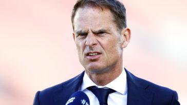 Frank de Boer enchaîne les boulettes depuis quelques jours (iconsport)