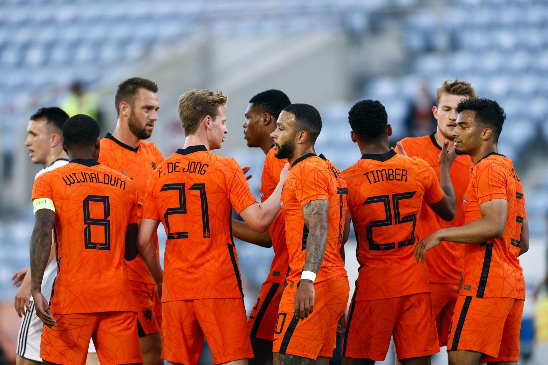 Wijnaldum, De Vrij, Frenkie de Jong, Depay, De Ligt... Les Pays-Bas présentent une montagne de talents individuels, mais qui peinent à former un collectif. Icon Sport