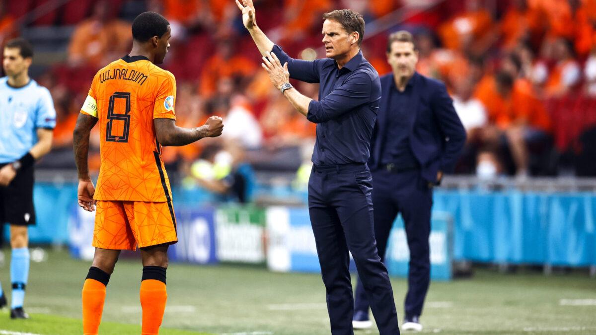 Frank de Boer est satisfait par la qualification, moins par la prestation (iconsport)