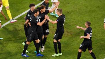 L'Allemagne s'en est sorti de justesse face à la Hongrie (2-2) et se qualifie pour les huitièmes de finale de l'Euro 2020 dans la douleur. Icon Sport