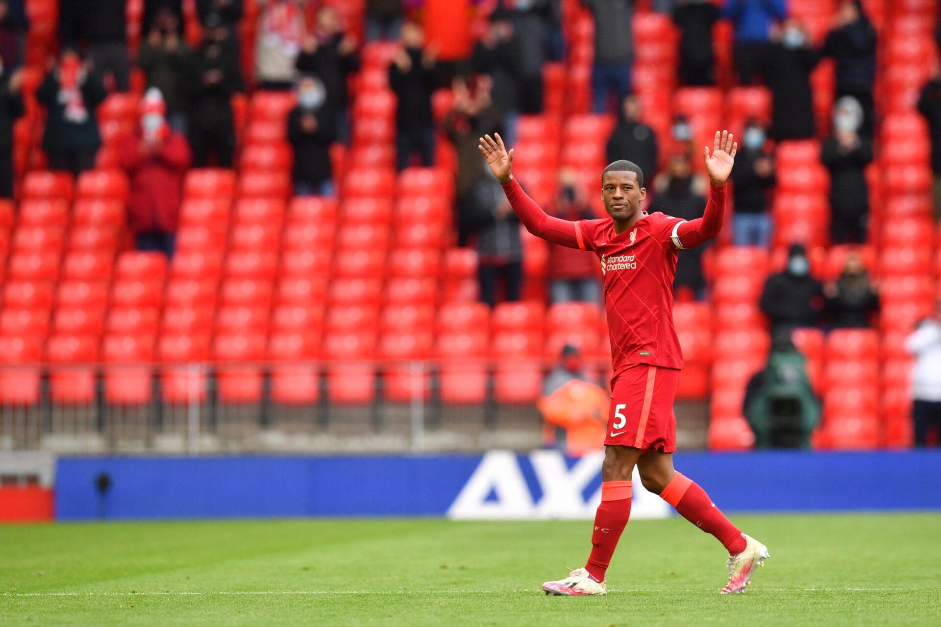 Georginio Wijnaldum va donc rejoindre le PSG après plusieurs saisons chez les Reds (iconsport)