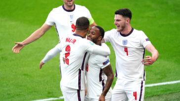 L'Angleterre a battu la République tchèque grâce à un but de Raheem Sterling et se qualifie pour les huitièmes de l'Euro. Icon Sport