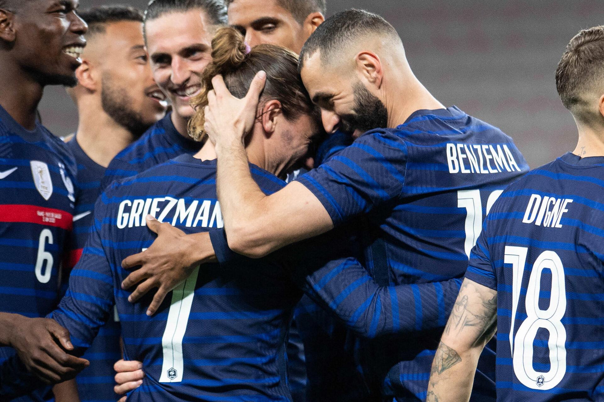 Antoine Griezmann et Karim Benzema seront présents face à l'Allemagne (iconsport)