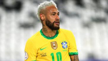 Brillant à la Copa America avec le Brésil, Neymar ne défendra pas le titre de sa sélection aux JO en juillet prochain (iconsport)