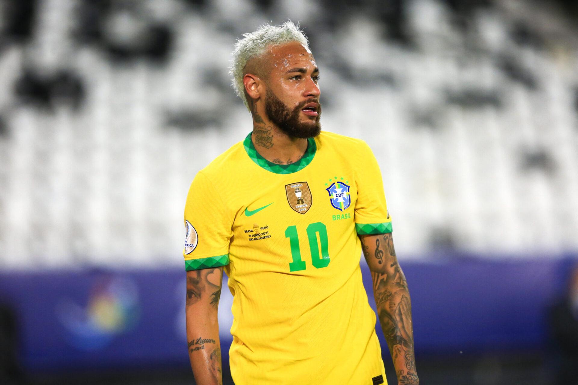 Neymar une nouvelle fois buteur avec le Brésil (iconsport)