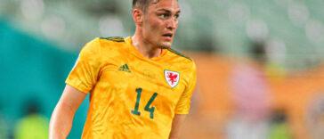 """Connor Roberts, le joueur du pays de Galles, a estimé que """"99% de la planète va supporter le Danemark"""" lors du huitième de finale de l'Euro 2020 (iconsport)"""