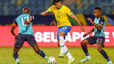 Malgré un bon Lucas Paqueta, le Brésil termine la phase de poules par un match nul face à l'Équateur et met fin à une série de 10 succès consécutifs (iconsport)