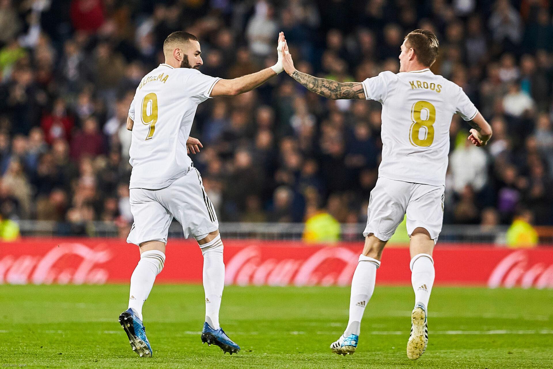 Coéquipiers en club, Benzema et Kroos se retrouveront en sélection ce mardi (iconsport)