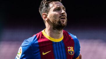 Lionel Messi ne figure pas dans la campagne de présentation du nouveau maillot du FC Barcelone. Une absence qui fait parler en Espagne (iconsport)