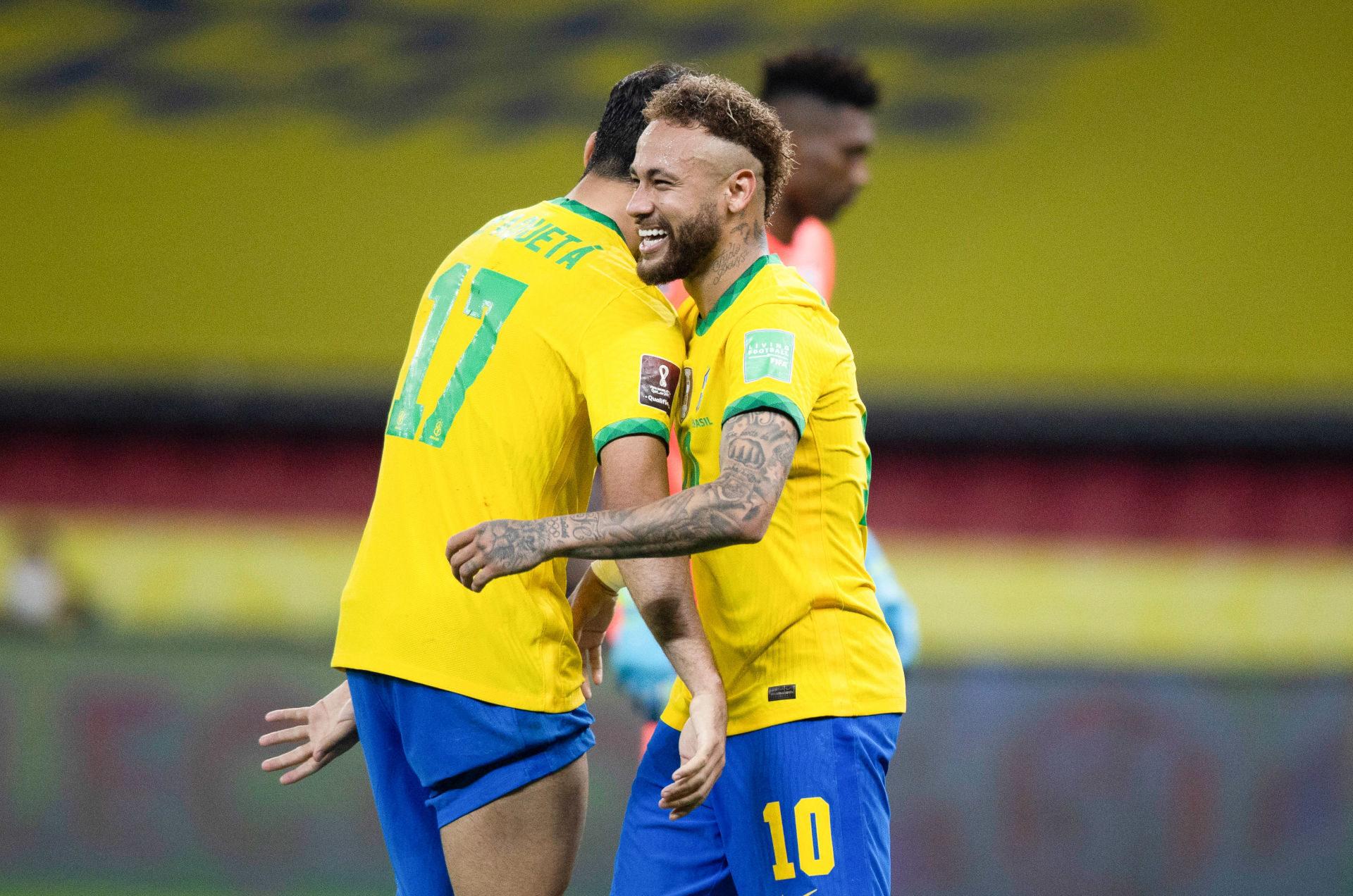 Neymar a été rayonnant contre l'Equateur (2-0). Icon Sport