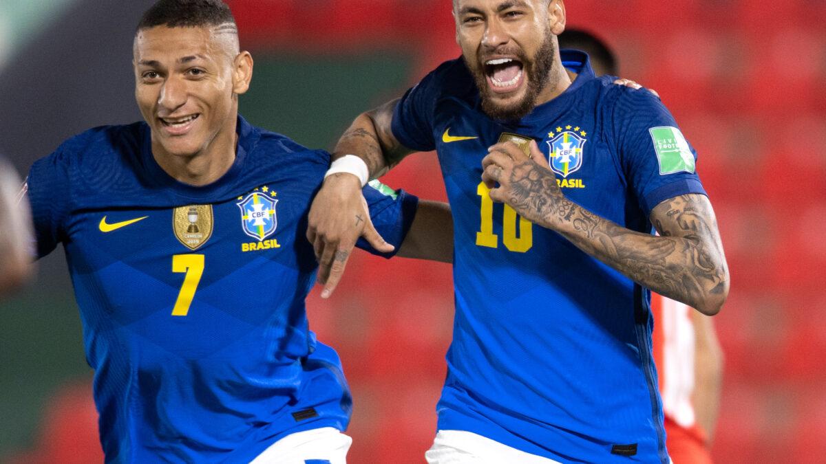 Buteur et passeur, Neymar a porté le Brésil contre le Paraguay