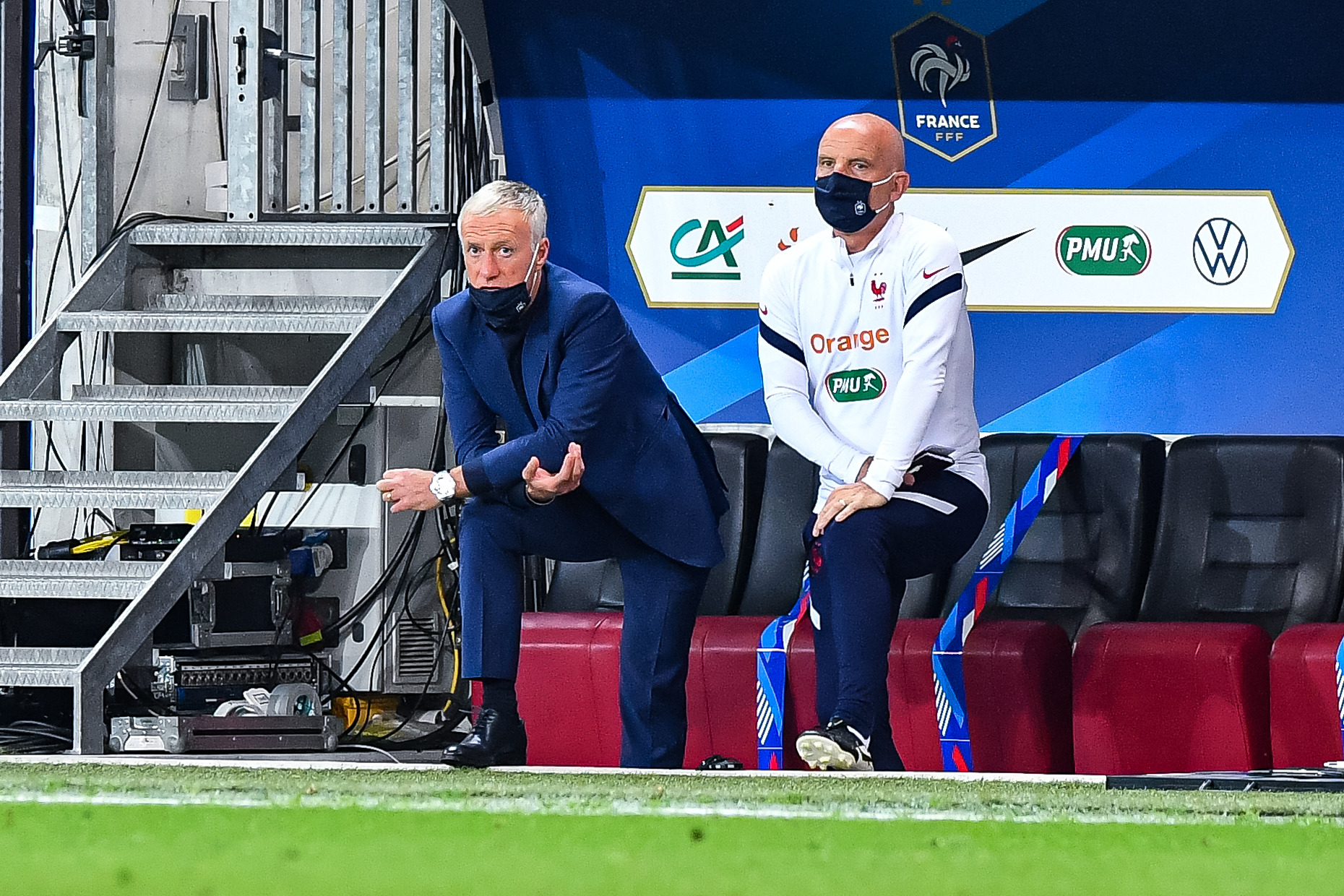 Didier Deschamps a pu donner du temps de jeu à ses joueurs avant l'Euro (iconsport)