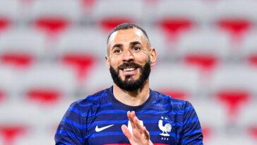 Karim Benzema a réussi son retour avec les Bleus contre le pays de Galles (3-0). Icon Sport