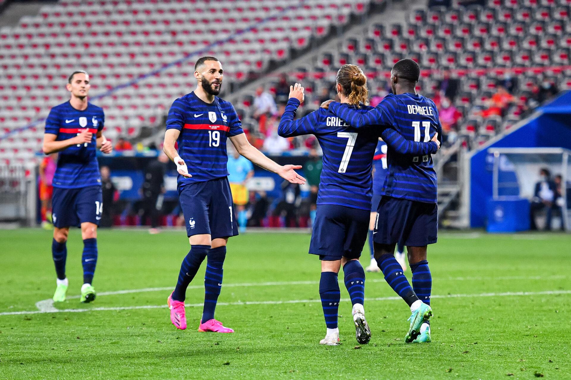 Karim Benzema, le leader de comportement des Bleus. Icon Sport