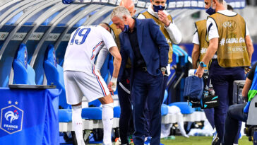 Karim Benzema a dû céder sa place face à la Bulgarie (iconsport)