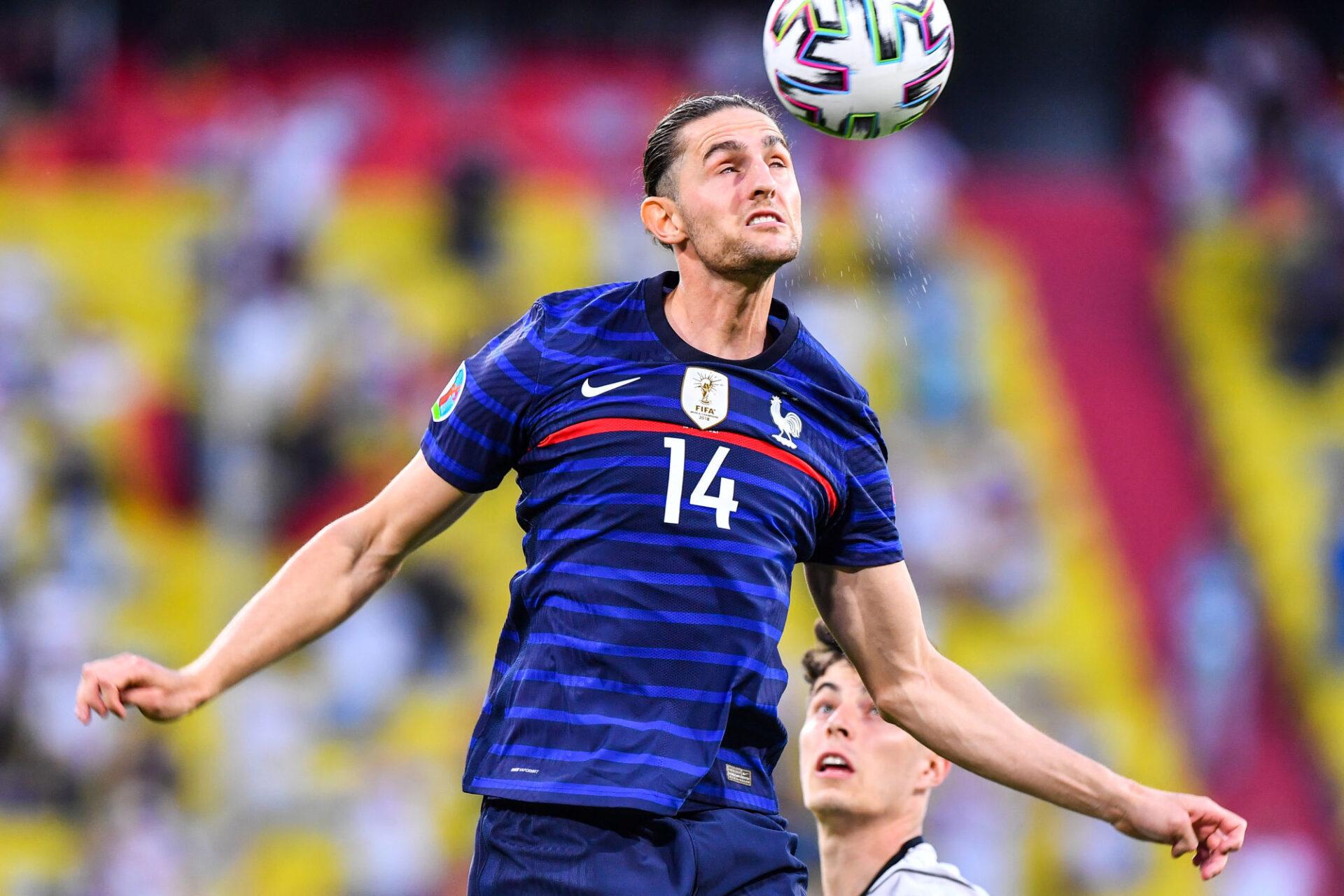 Adrien Rabiot s'est démultiplié contre l'Allemagne. Icon Sport
