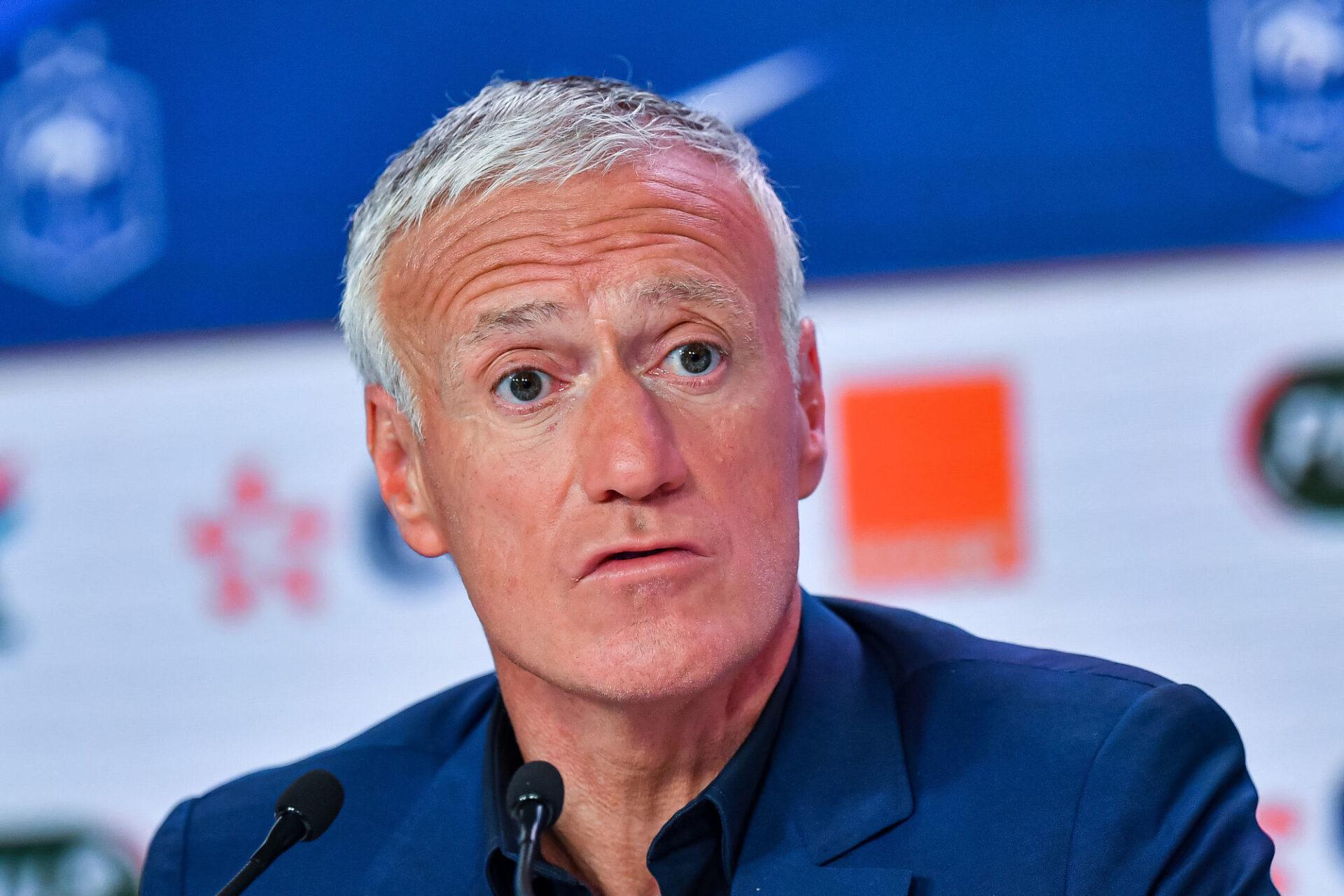 Didier Deschamps n'a pas consulté Olivier Giroud avant de rappeler Karim Benzema, ce que l'attaquant de Chelsea comprend et accepte. Icon Sport
