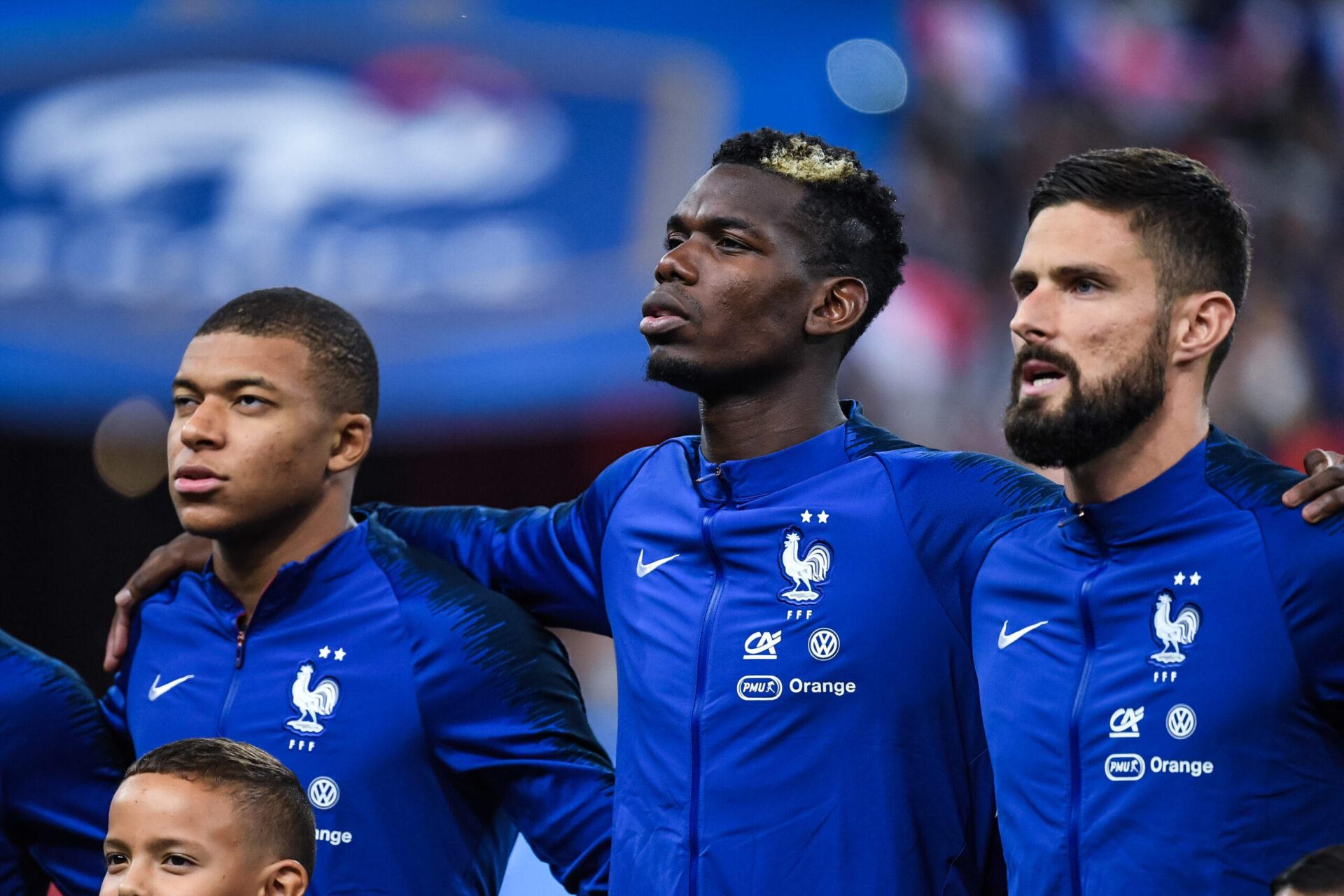 Pogba l'assure, il n'a constaté aucune tension entre Mbappé et Giroud après France - Bulgarie (iconsport)