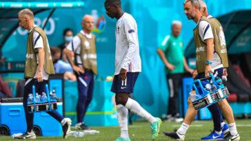 Ousmane Dembélé pourrait être forfait pour la suite de l'Euro après une blessure contractée face à la Hongrie (1-1) - Icon Sport