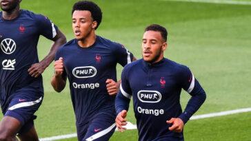 Didier Deschamps envisagerait de faire débuter Corentin Tolisso et Jules Koundé face au Portugal - Icon Sport