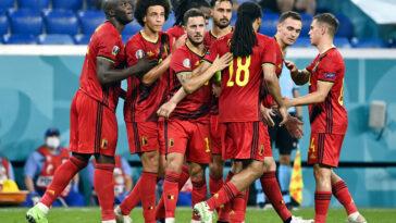 Ils auront mis le temps, mais les Belges ont assumé leur statut en battant la Finlande - Icon Sport