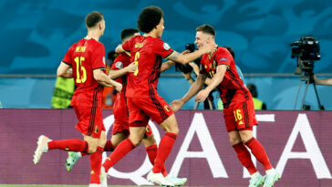 La Belgique obtient sa qualification pour les quarts (iconsport)