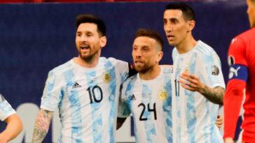 Direction quarts de finale pour l'Argentine de Messi, Di Maria et Agüero - Icon Sport