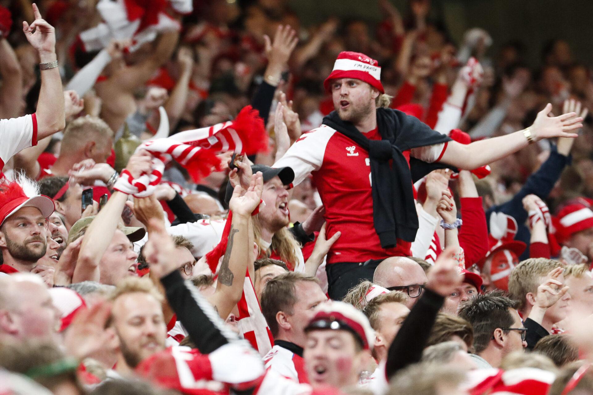 Le public danois était en feu et a porté son équipe pendant tout le match (iconsport)