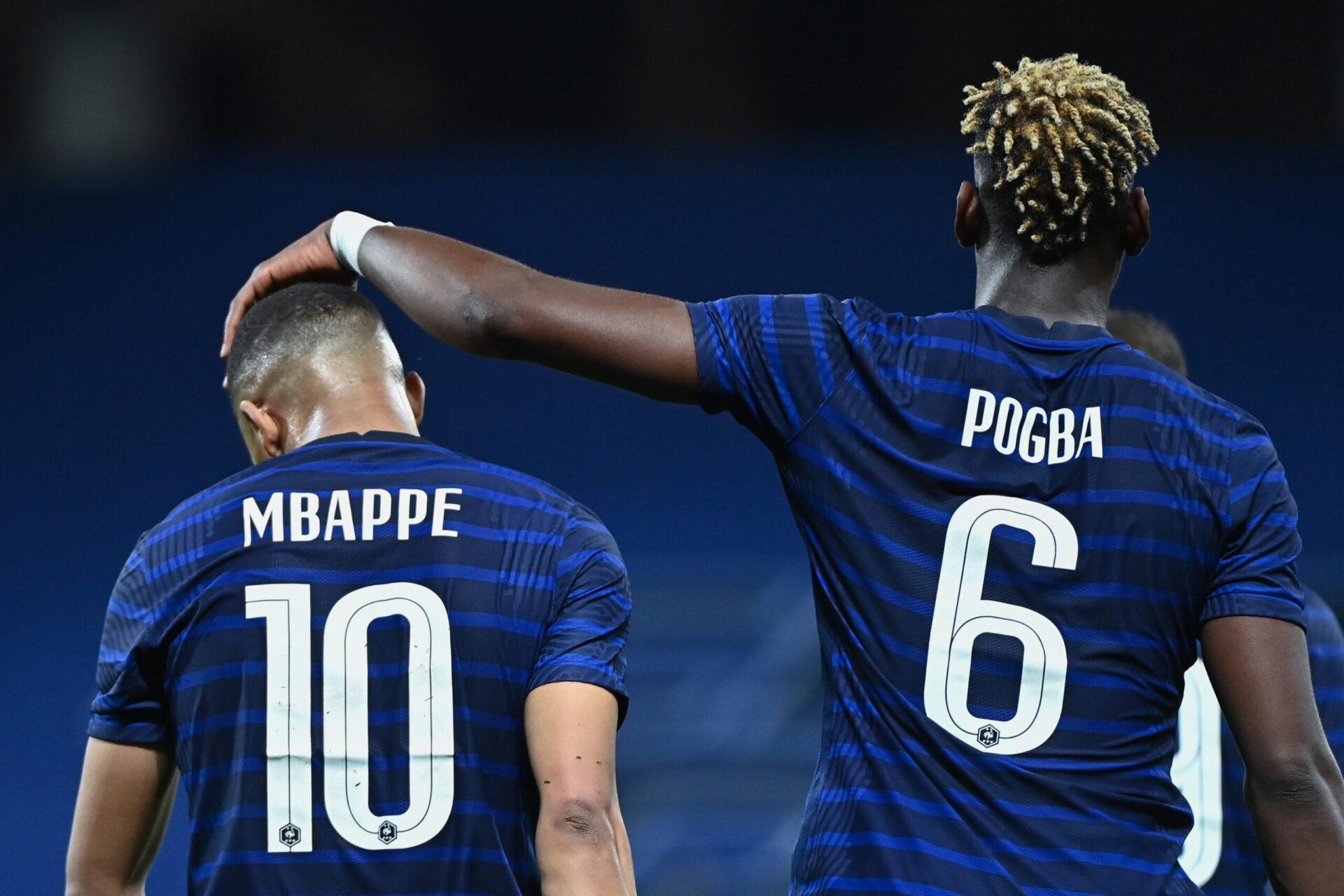 Coéquipiers en sélection, Kylian Mbappé et Paul Pogba seront-ils tous les deux au PSG la saison prochaine ? (iconsport)