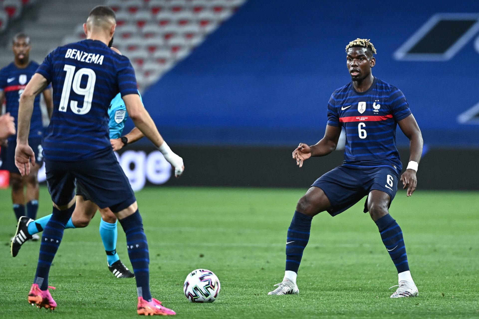 Pour Pogba, le retour de Benzema en Equipe de France est une bonne nouvelle (iconsport)