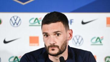 Hugo Lloris était présent en conférence de presse ce lundi (iconsport)