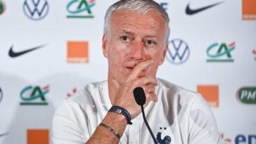 Didier Deschamps était présent en conférence de presse (iconsport)