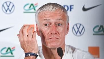 Didier Deschamps était présent en conférence de presse ce lundi (iconsport)