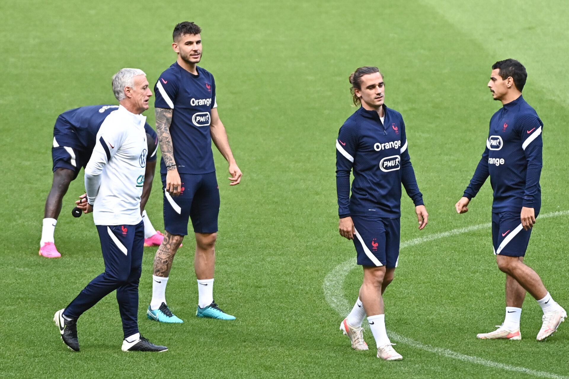 Didier Deschamps loue les qualités d'Antoine Griezmann (iconsport)