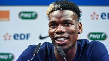 En conférence de presse ce jeudi après-midi Paul Pogba a balayé plusieurs sujets à 5 jours de l'entrée des Bleus à l'Euro (iconsport)