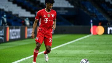 Kingsley Coman aimerait quitter le Bayern Munich cet été. Icon Sport