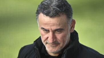 Christophe Galtier est toujours la priorité de Nice, mais le club n'a pas d'accord avec Lille pour la dernière année de contrat de l'entraîneur - Icon Sport