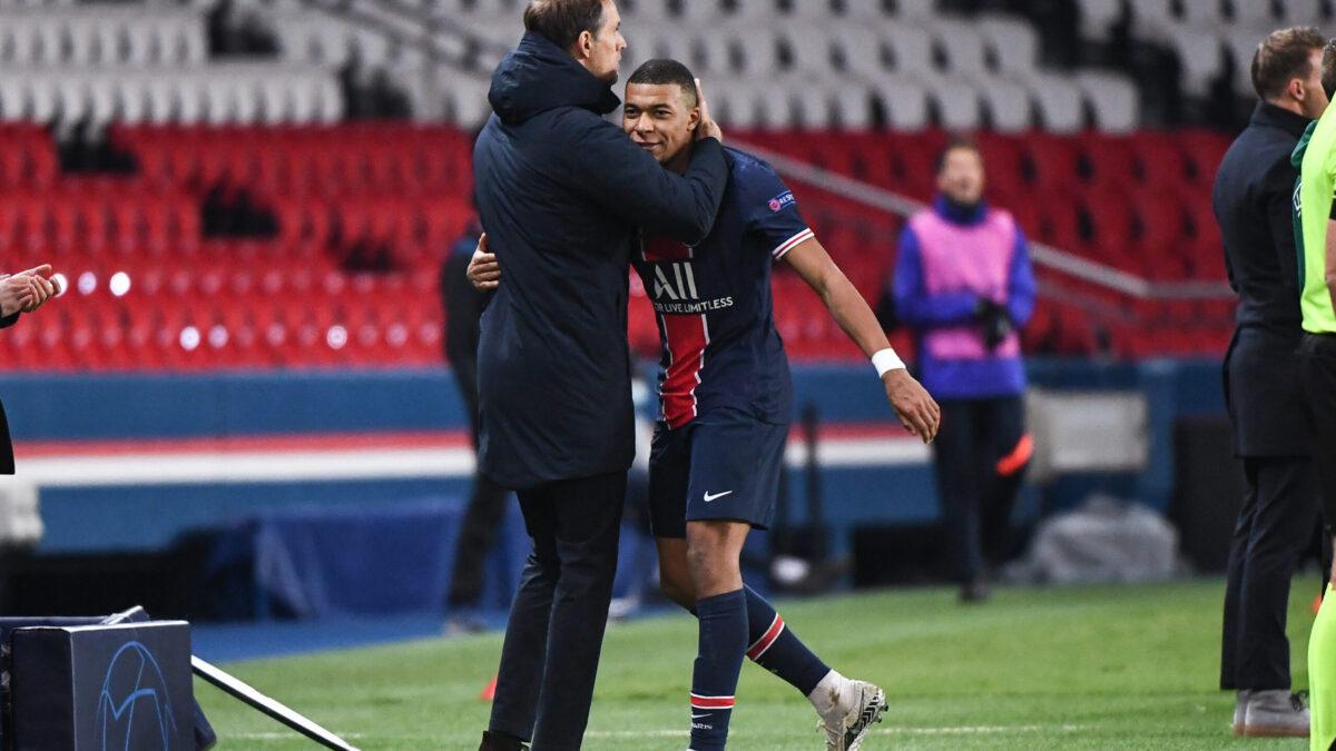 Thomas Tuchel et Kylian Mbappé s'appréciaient particulièrement au PSG (iconsport)