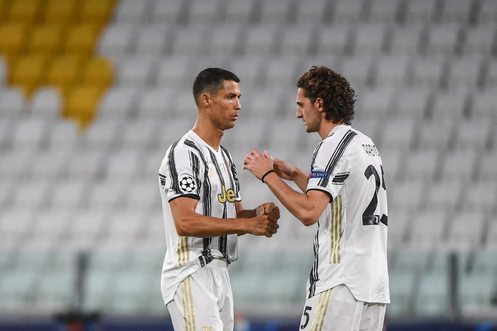 Cristiano Ronaldo et Adrien Rabiot se connaissent bien. Coéquipiers à la Juve, ils se retrouveront pour le choc entre la France et le Portugal, mercredi 23 juin. Icon Sport