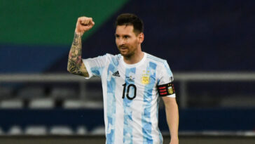 Face au Chili, Lionel Messi est devenu le meilleur marqueur en activité sur coup franc direct (iconsport)
