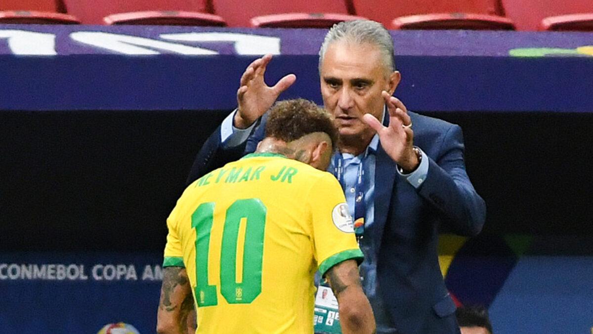 Neymar est actuellement en pleine forme avec le Brésil (iconsport)