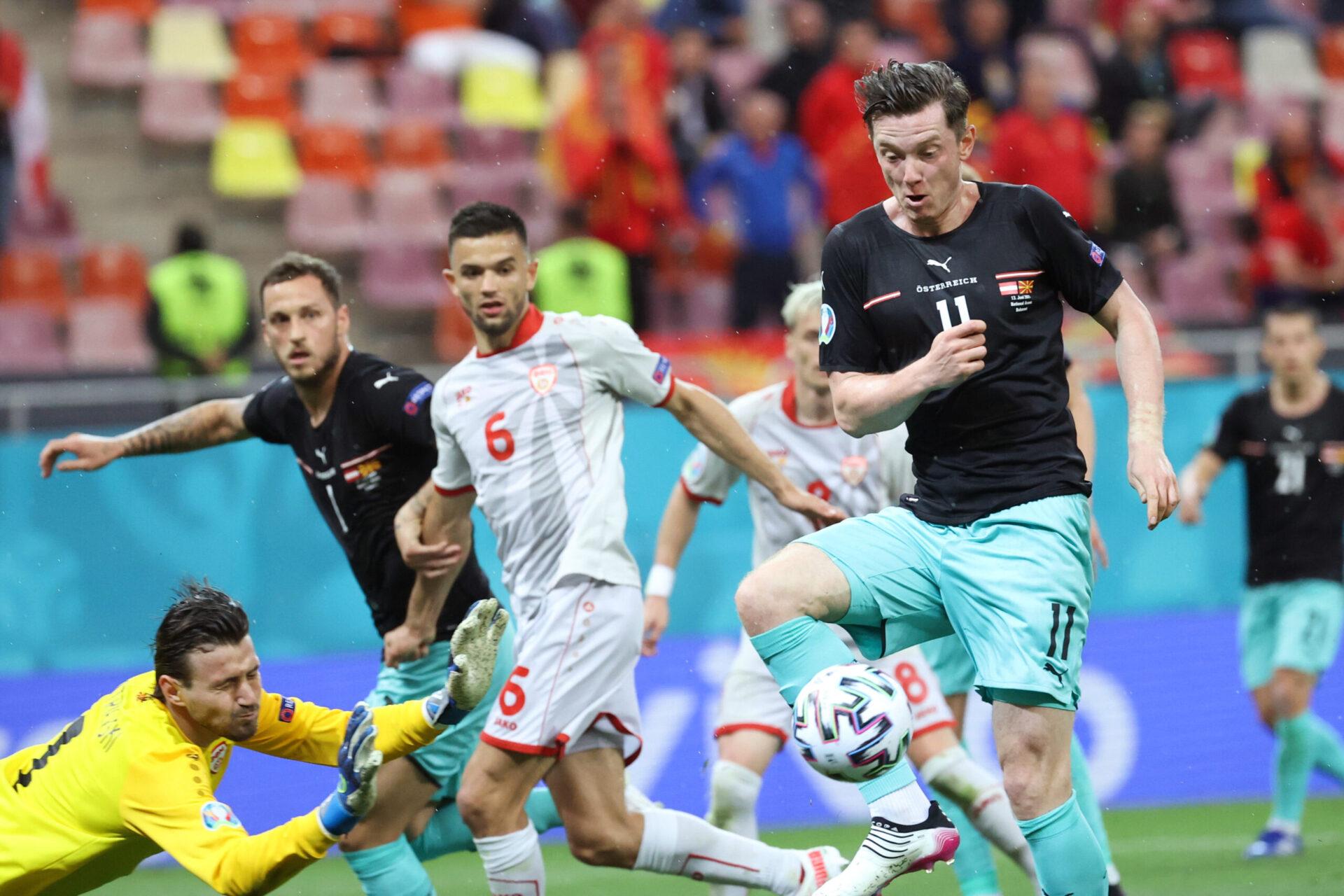 L'entrée de Gregoritsch a été déterminante pour l'Autriche. Icon Sport