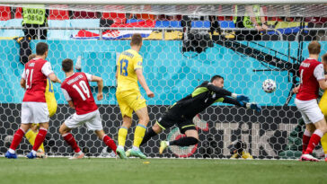 Baumgartner a donné la victoire à l'Autriche face à l'Ukraine. Icon Sport