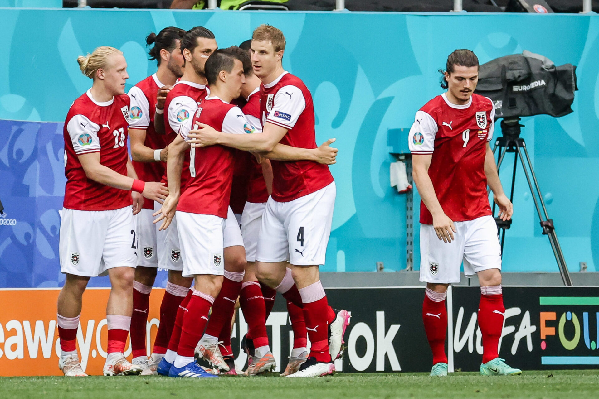 L'Autriche tient son billet pour les huitièmes de finale. Icon Sport