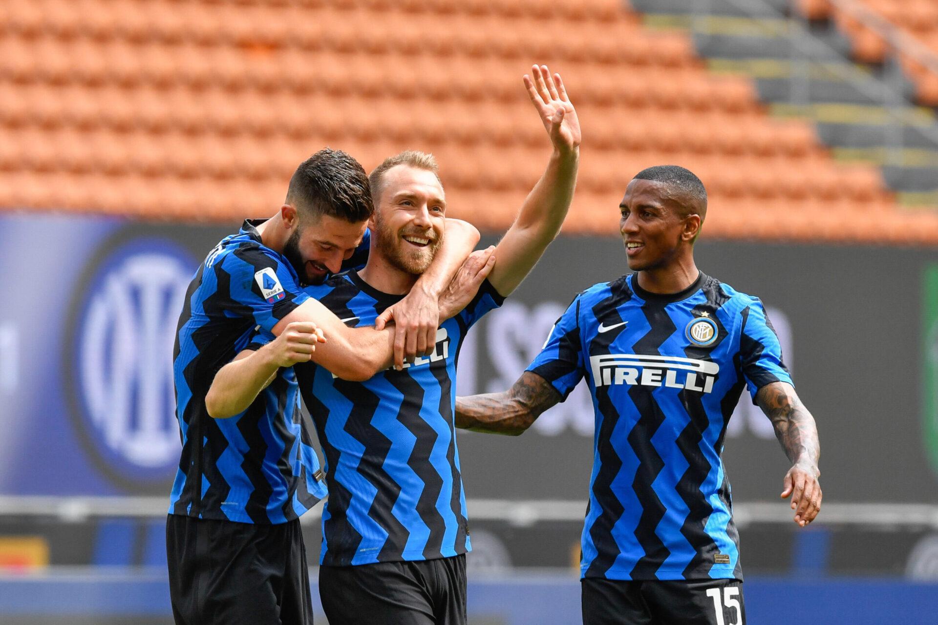 Le Danois a été sacré champion d'Italie avec l'Inter Milan la saison dernière - Icon Sport