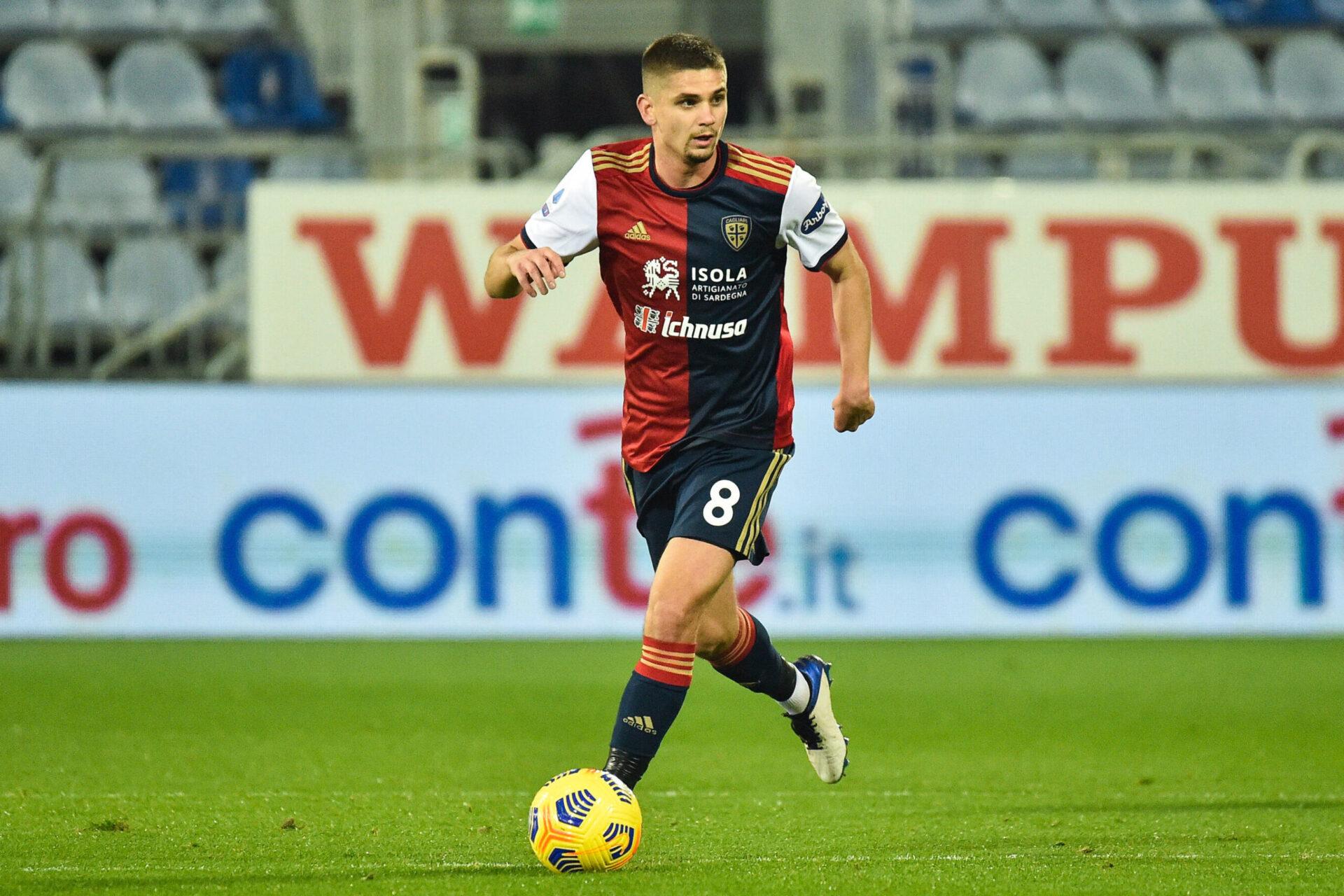Après sa belle saison avec Cagliari, Rӑzvan Marin est courtisé (iconsport)