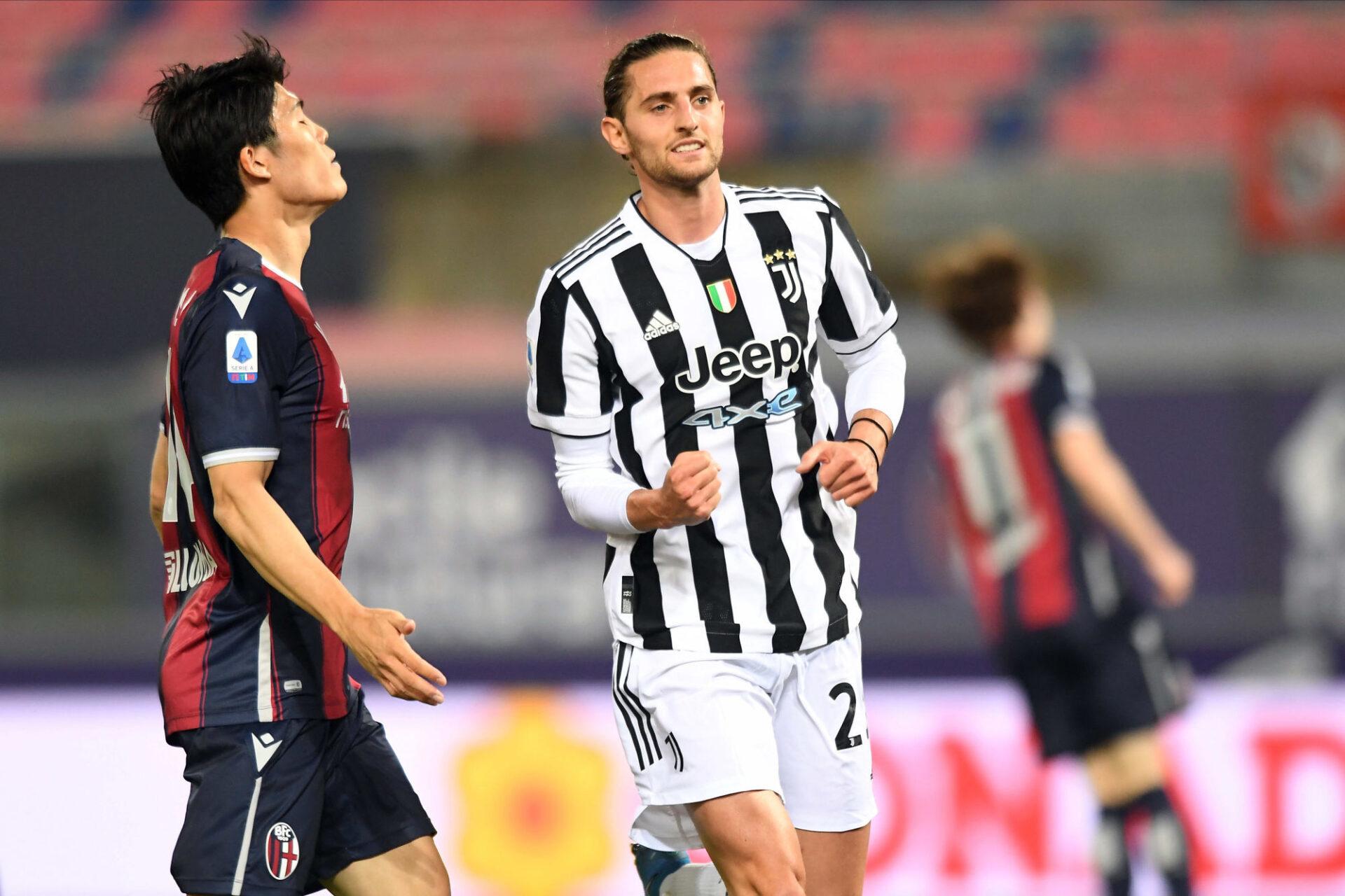 Adrien Rabiot a bien évolué depuis son arrivée à la Juventus. Icon Sport