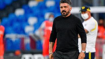 Gennaro Gattuso n'aura pas eu le temps d'être sur le banc pour un match de la Fio - Icon Sport