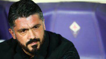 Gennaro Gattuso ne sera resté que 22 jours à la Fiorentina ! Le technicien italien quitte le club après des désaccords avec ses dirigeants (iconsport)